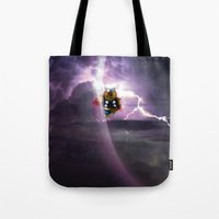 Super Bears - ACTION! the Mighty One Tote Bag