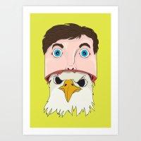 Alter Egos Art Print