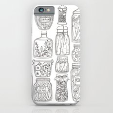 Pickles Print iPhone 6 Slim Case