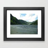 Mountain Sea Framed Art Print