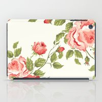 Flower Print iPad Case