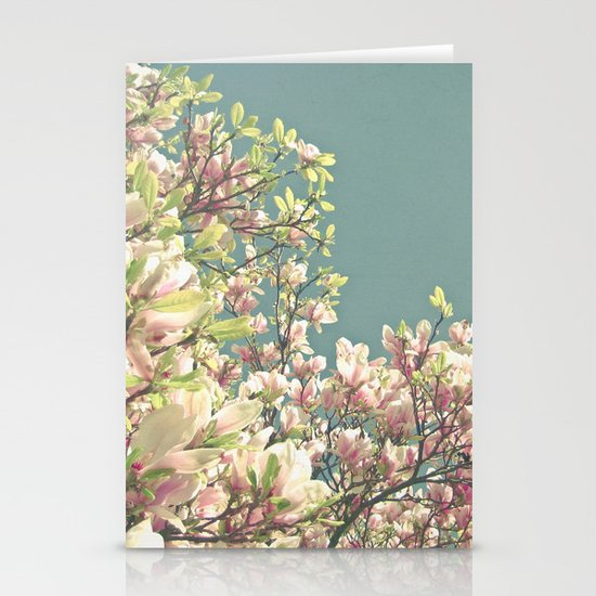 Magnolia in Bloom Stationery Card
