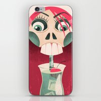 The Deadliest Sip iPhone & iPod Skin