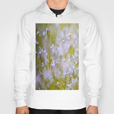 Forget-me-nots On a Windy Day Hoody