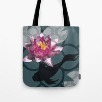 In the Koi Pond Tote Bag