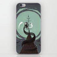 Night Hunt iPhone & iPod Skin