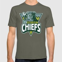 Forest Moon Chiefs - Gre… Mens Fitted Tee Lieutenant SMALL