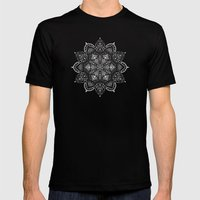 Winter Spirit - Blue Mens Fitted Tee Black SMALL