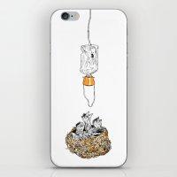 Birdbreath iPhone & iPod Skin