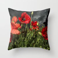 Royal Marine Remembrance Throw Pillow