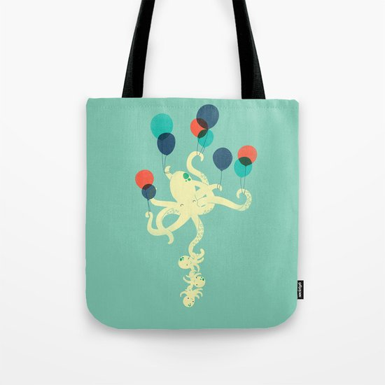 Up We Go Tote Bag