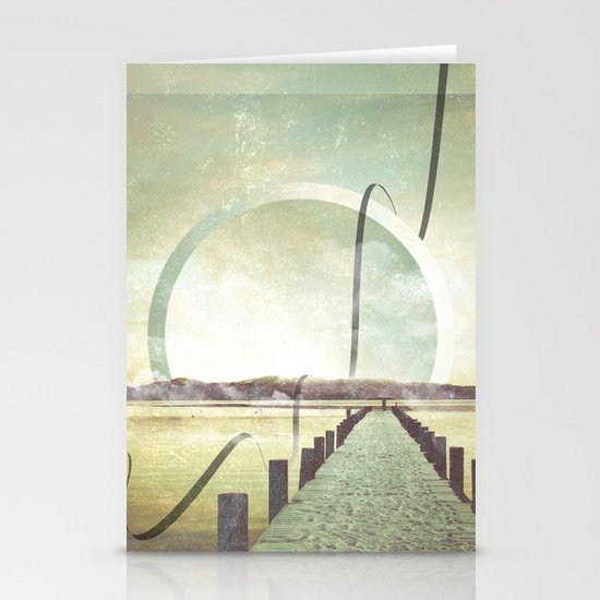 Southern Lights Stationery Card