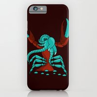 iPhone & iPod Case featuring Crabonster by Dambar Thapa
