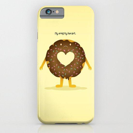 Empty heart iPhone & iPod Case
