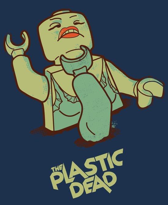 The Plastic Dead Canvas Print