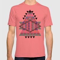 CANDIE CANDIE Mens Fitted Tee Pomegranate SMALL
