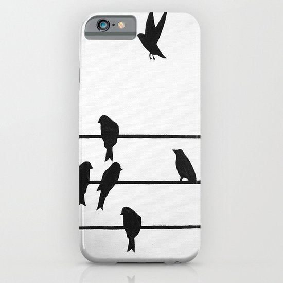 Birds on a Wire iPhone & iPod Case