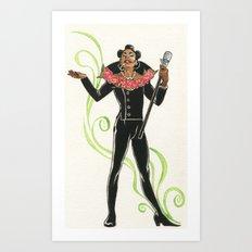 Ruby Rhod Pin-Up Art Print