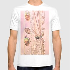 Wheel of Fortune 1 Mens Fitted Tee White SMALL