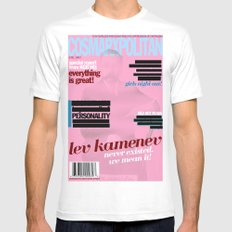 Cosmarxpolitan, Issue 12 Mens Fitted Tee SMALL White