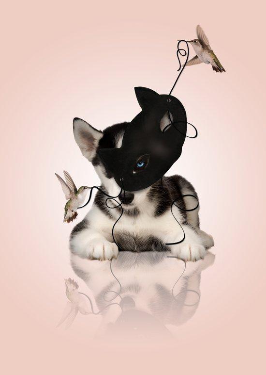 Lucky Dog Art Print