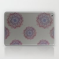 Grey Ombre Mandala Laptop & iPad Skin