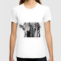 africa T-shirts featuring Africa by Robyn Marshall