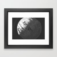 shadow of a doubt Framed Art Print