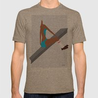 Blue Swim Wear Mens Fitted Tee Tri-Coffee SMALL