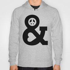 Peace And Love Hoody