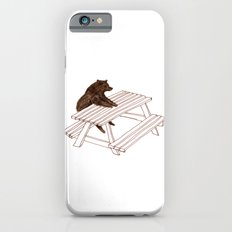 Picnic Bear iPhone 6 Slim Case