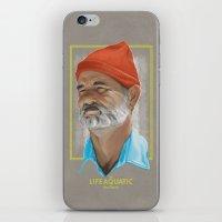 Steve Zissou Life Aquatic  iPhone & iPod Skin