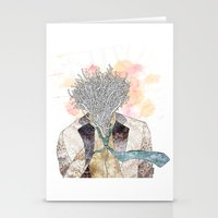 The One With Head Stationery Cards