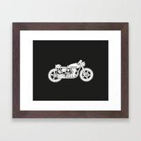 Honda CB750 - Café racer series #1 Framed Art Print