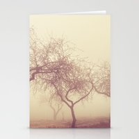 Mysterious Almond Stationery Cards