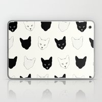 Cat Pattern Laptop & iPad Skin