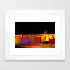 God Light Framed Art Print
