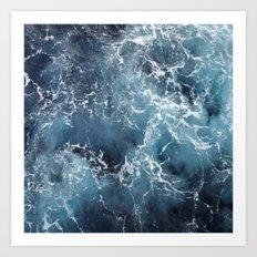Blue Ocean Art Print