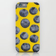 Blueberry Pattern iPhone 6 Slim Case