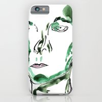 iPhone & iPod Case featuring Green Envy by Andria Aileen