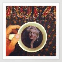 Famous Mug Shots // Marilyn Monroe Art Print