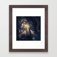 Not Alone Framed Art Print