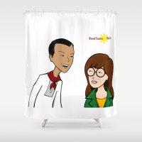 Daria meets Andres Bonifacio Shower Curtain