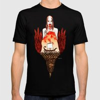 Metamorphoses of Philomela Mens Fitted Tee Black SMALL