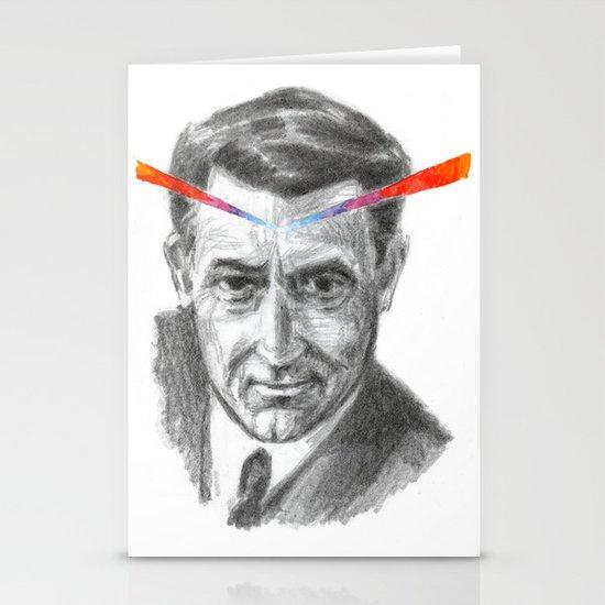 Cary Grant LSD Stationery Card