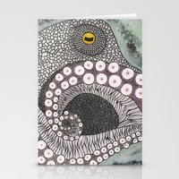 Octopus Stationery Cards