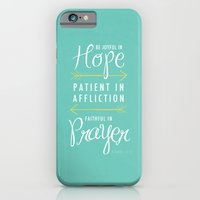 Romans 12:12 iPhone 6 Slim Case