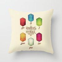 Legend Of Zelda - Tingle… Throw Pillow