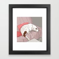 Siria Framed Art Print