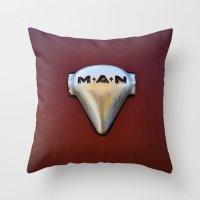 MAN ... M.A.N Throw Pillow